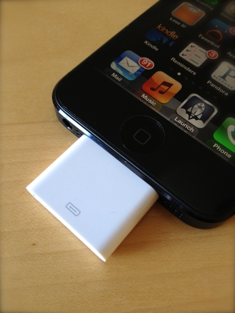 It\'s alive (still)! My iPhone 5 car set-up and the Lightning adapter
